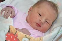 KATEŘINA ŠOTOLOVÁ se narodila 27. března 2014 ve 21:11 hodin. Po narození vážila 2795 gramů a měřila 46 centimetrů. S rodiči Radkou Adamírovou a Jakubem Šotolou a s pětiletým bráškou Péťou bydlí v Náchodě.