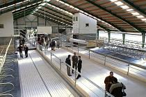 Otevření Robotizované farmy pro chov dojnic Slatina nad Úpou.