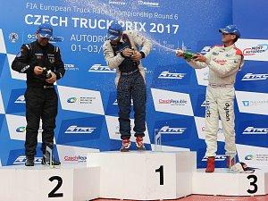První závod ME tahačů Czech Truck Prix 2017 v neděli