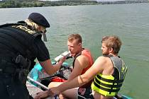 Policejní akce Voda 2018 na Rozkoši.