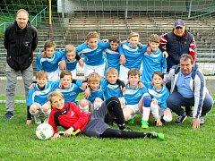 VÝBĚR OFS Náchod U12 skončil v semifinále pátý, když ho od postupu do finále dělil jeden vstřelený gól.