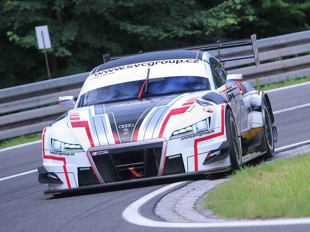 VLADIMÍR VITVER brázdí evropské kopce se speciálem Audi TT DTM.
