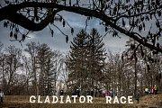 Závod Winter Gladiator race v Josefově.