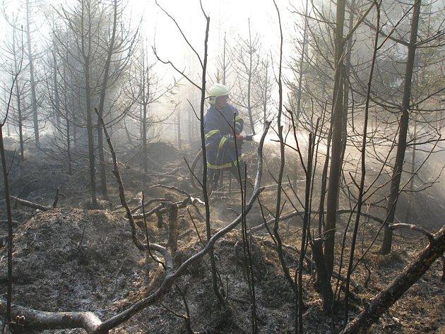 Požár v Teplicích nad Metují.
