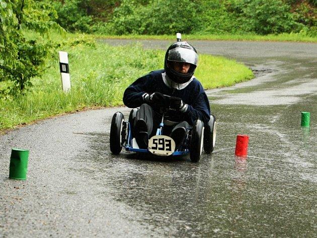 Deštivé počasí prověřilo všechny závodníky především po technické stránce.