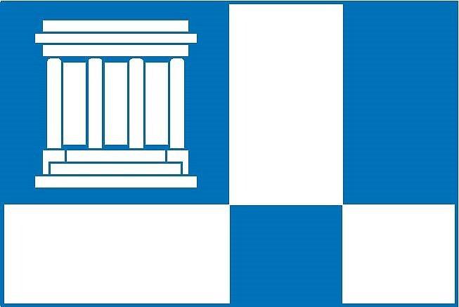 Návrh vlajky pro město Hronov (č. 3).