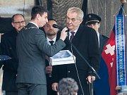 Prezident Zeman v Červeném Kostelci