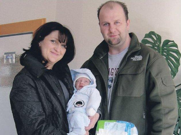 Tobiáš Vejman se stal nejkrásnějším miminkem měsíce února.