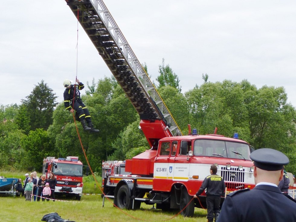 110 let od založení místního sboru dobrovolných hasičů.