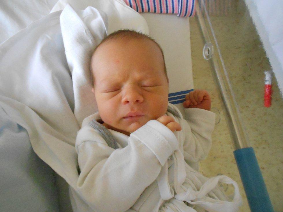 Václav Hanuš přišel na svět 1. listopadu 2019 ve4.23 hodin se 49 cm délky a váhou 3 020 g. Radují se z něho rodiče Šárka Kočovská a Alan Hanuš ze Solnice a také sestřičky Natálka a Eliška. Tatínek byl u porodu velkou oporou.