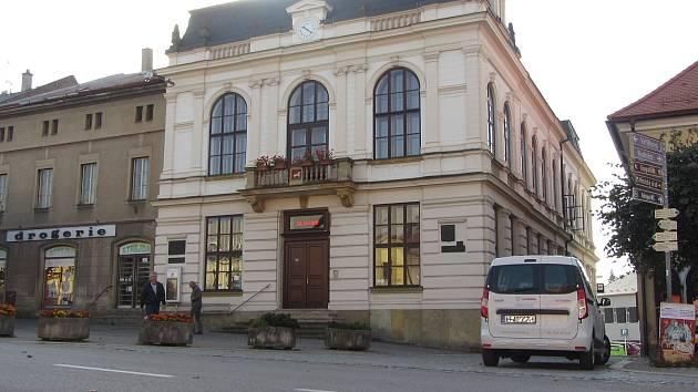 Městský úřad ve Vamberku.