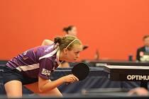 OPORA. Doberská stolní tenistka Daniela Rozínková potvrdila v úvodních letošních extraligových zápasech s Havířovem a Frýdlantem nad Ostravicí výbornou formu.