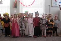 Karnevalové veselí bylo v každé třídě jiné
