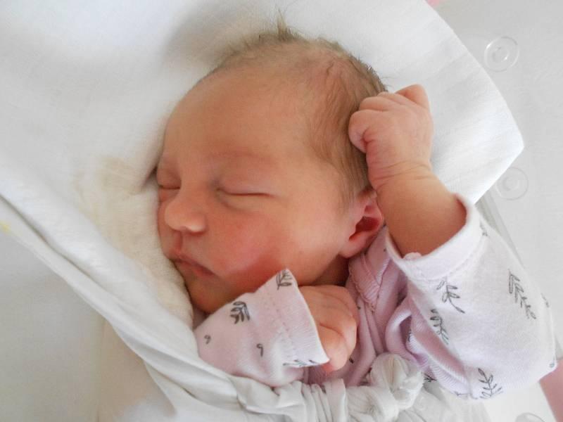 VICTORIE VACÁTKOVÁ poprvé spatřila světlo světa 8. června v 19.52 hodin. Měřila 50 cm a vážila 3220 g. Velmi potěšila své rodiče Denisu Haviarovou a Vojtěcha Vacátka z Opočna. Tatínek to u porodu zvládl skvěle a byl velkou oporou.