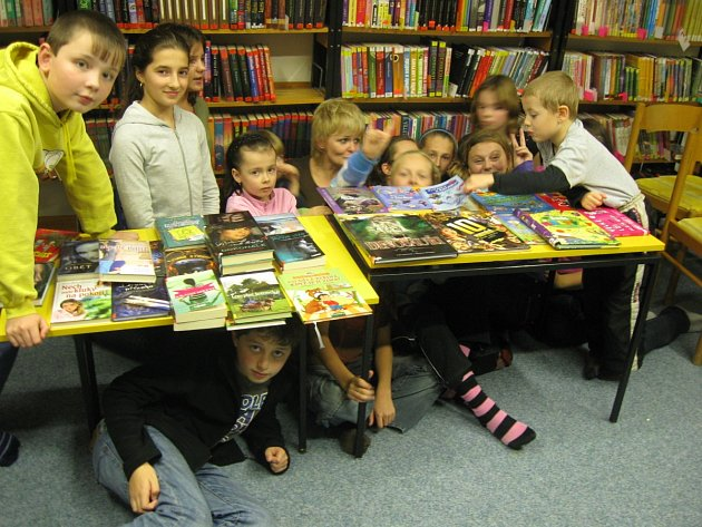 Černá hodinka ve vamberecké knihovně