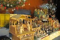 Výstava betlémů z kraje Orlických hor.