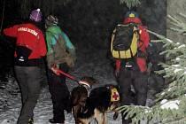 Cvičení horské služby