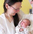 ALICE POUROVÁ: Rodiče Vendula Vlasáková a Lukáš Pour z Hradce Králové přivedli na svět dceru. Holčička se narodila 5. ledna ve 20.12 hodin s váhou 3,2 kg a délkou 49 cm.