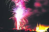 Ve Vamberku byl ohňostroj již 30. prosince