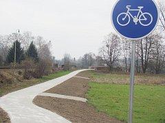 Cyklostezka podél Divoké Orlice na Kostelecku