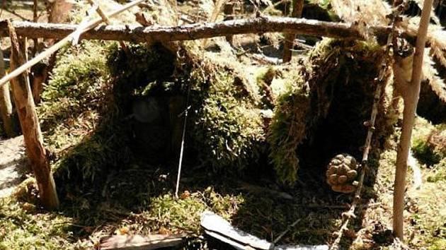 Ve skřítkovém lese vzniká skřítková osada.
