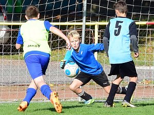 Fotbal ml. žactva: Kostelec/Častolovice - Týniště