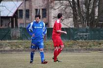 Kanonýr. Martin Merganc přispěl dvěma góly k výhře Týniště v Úpici.