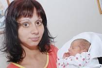 ANTONÍN BŘICHÁČEK: Maminka Viera Břicháčková z Rychnova nad Kněžnou přivedla na svět syna Antonína. Narodil se 27. července ve 13.54 hodin. Vážil 2,7 kg a měřil 48 cm. Doma se na brášku těší Danielka a Martinka