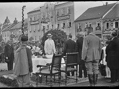 T. G. Masaryk navštívil i Kostelec nad Orlicí