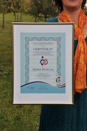 Na prestižní ocenění Práce postižených jsou pracovníci zobčanského sdružení Neratov právem hrdí.