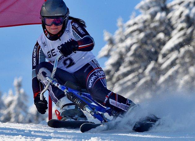 Kristýna Harnachová ze Skibob klubu Dobruška, která v letošní sezoně byla zařazena do reprezentačního družstva žen, se prosadila ve slalomu na stupně vítězů.