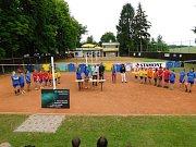 Oslavy 75. výročí založení volejbalového klubu v Kvasinách.