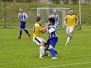 Krajský přebor ve fotbale: FK Kostelec nad Orlicí - FK Chlumec nad Cidlinou.