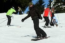 Uplynulá lyžařská sezona v zimních střediscích Orlických hor.