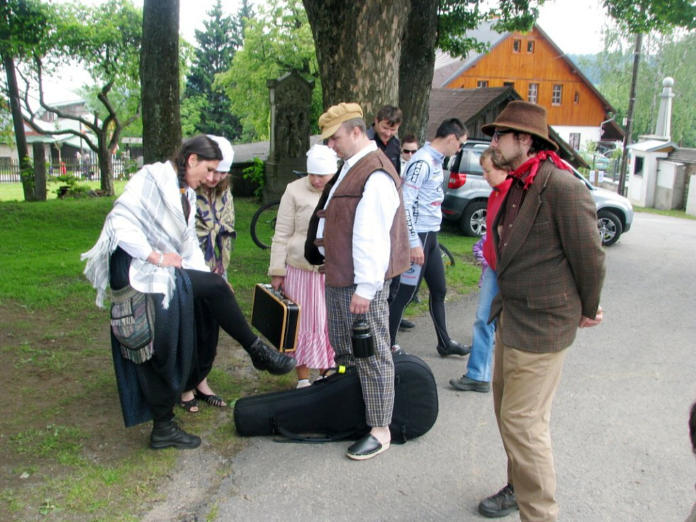 Slavnosti obce v Říčkách v Orlických horách.