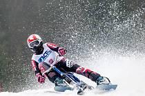 Bronzovou medaili vybojovala na MČR v obřím slalomu Gabriela Jašková ze Skibob klubu Dobruška.