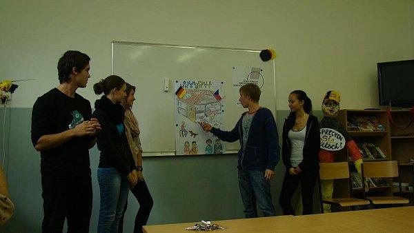 Studenti Gymnázia Františka Martina Pelcla na výměnném pobytu vNěmecku