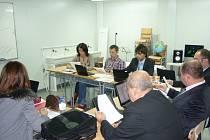 Fiktivní firma Základní školy TGM v Borohrádku na setkání ve Španělsku