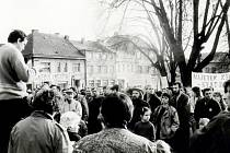 Sametová revoluce v Rychnově nad Kněžnou