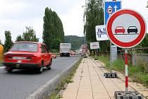 Omezení dopravy na silnici Rychnov nad Kněžnou - Budín.