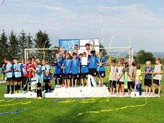 Závěrečný ceremoniál: Devátý ročník fotbalového turnaje starších přípravek Opočno Cup vyvrcholil předáním cen nejlepším týmům a jednotlivcům.