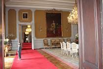 Ze zámku Opočno.
