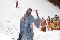 Lyžaři v Orlických horách dali zimě sbohem