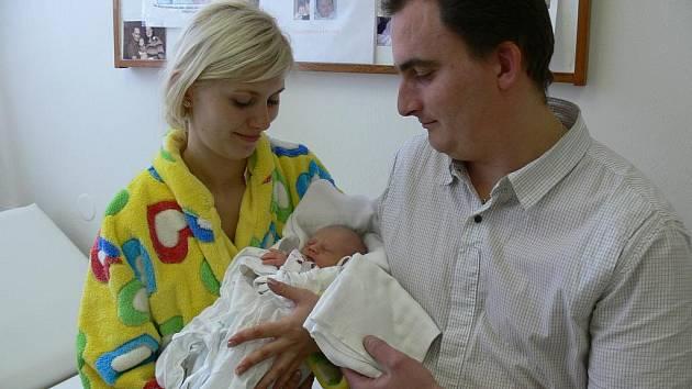 Prvním miminkem na Rychnovsku je Simonka z Dobrušky