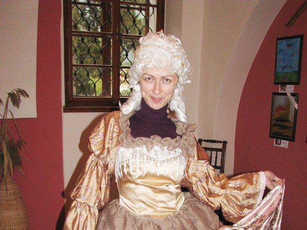 Herečka Kateřina Bohadlová