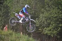 SKOK. Motokrosových závodů v Opatově se zúčastnilo 117 jezdců.