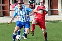 OKRESNÍ DERBY. Fotbalisté Ohnišova vyhráli oba vzájemné zápasy s Kostelcem nad Orlicí v poměru 3:1 a 2:1.