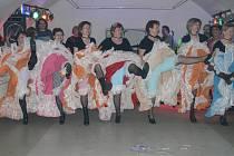 Na karnevale spojeném s koncertem Zlaté svatby v bistru U Vody se masky skvěle bavily.