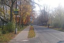 První měřič byl instalován nedaleko dobrušského gymnázia a základní školy Pulická.