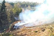 Požár v Merklovicích